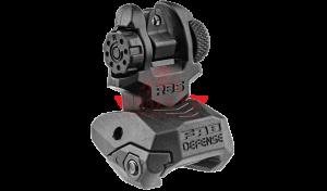 Механический прицел, задний FAB-Defense RBS для Пикатинни