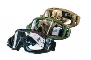 Тактические пылезащитные очки C.P.E.® Tactical Desert (Black)