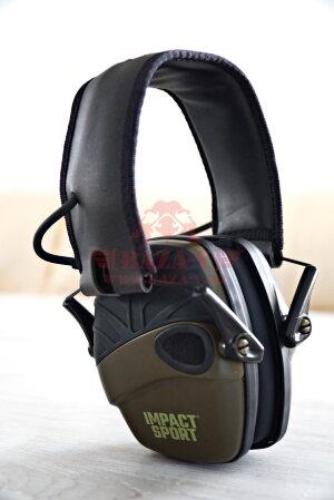 Активные наушники HOWARD LEIGHT Impact Sport Electronic Earmuffs R-01526 США (OD GREEN)