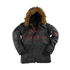 Куртка-парка Alpha Industries N-3B Parka (Black)