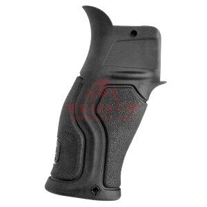 Пистолетная рукоятка для AR-10/-15, M4/M16, SR-25 FAB-Defense GRADUS, прорезиненная, с уменьшенным углом (Black)