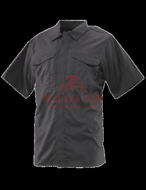 Форменная рубашка с коротким рукавом TRU-SPEC Men's 24-7 SERIES® Ultralight Short Sleeve Uniform Shirt (Black)