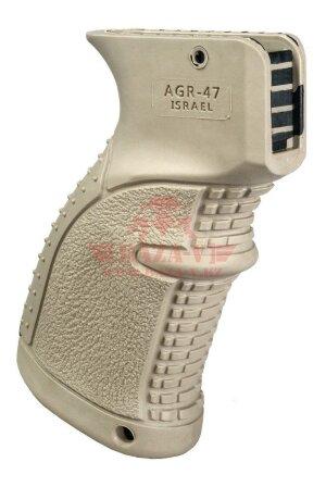Рукоять прорезиненная FAB-Defense AGR-47 для АК (TAN)