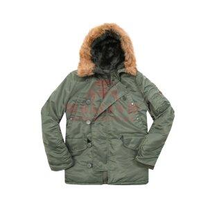 Куртка-парка Alpha Industries N-3B Parka (Sage Green)