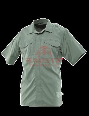 Форменная рубашка с коротким рукавом TRU-SPEC Men's 24-7 SERIES® Ultralight Short Sleeve Uniform Shirt (Olive drab)