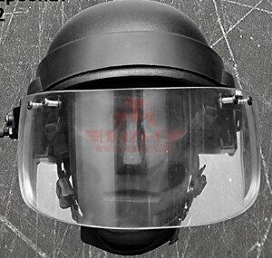 Пуленепробиваемый визор (забрало) универсальный на каску Compass™ (класс защиты NIJ III-A)