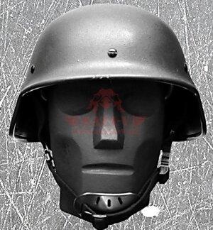 Баллистический шлем Compass™ (сталь) (класс защиты NIJ III-A) (Black)