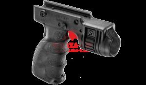 """Рукоять FAB-Defense T-GRIP-R с креплением фонаря 1"""" (с кнопкой включения)"""