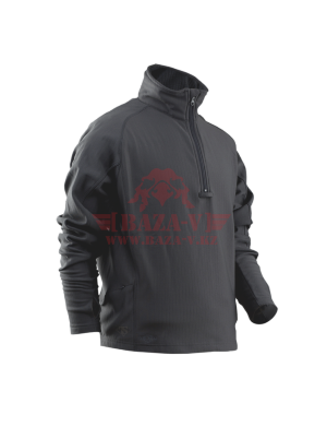 Кофта флисовая TRU-SPEC Men's 24-7 SERIES® Zip Thru Grid Fleece Pullover (Charcoal Grey)