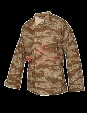 Китель классической полевой формы TRU-SPEC Classic BDU Coat (CAMO) 100% Cotton RipStop (Desert Tiger Stripe)