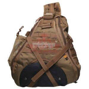 Сумка-рюкзак на одно плечо Winforce™ Voyager Versipack (Coyote)