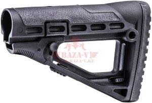"""Приклад для M16, M4, AR15, AK47/74, REM870, MOSS500 """"СКЕЛЕТОН"""" CAA TACTICAL (SBS) (Black)"""
