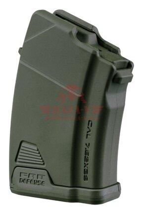 Магазин 7.62х39 на 10 патронов для АК FAB-Defense Ultimag AK 10R (Green)