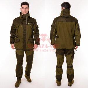 Костюм OneRus Горный -5 (Палатка/Флис) Темный хаки (Beige)