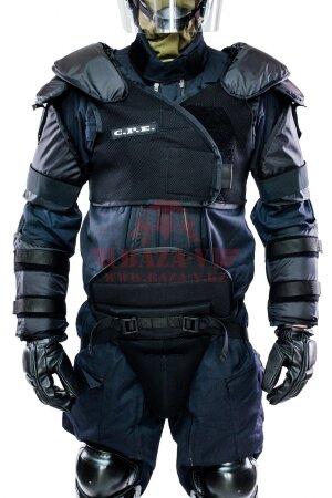 Противоударная защита плеч и предплечья C.P.E.® Shoulder & Upper Arm Guard-01 (Класс защиты NIJ III-A)