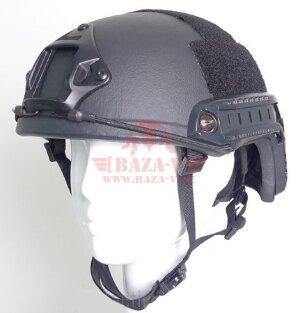 Баллистический шлем с рельсовой системой Compass™ MICH 2000 (Класс защиты NIJ III-A от пуль калибра .357 Magnum и .44 Magnum)