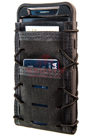 Подсумок под телефон/гаджет ITACO® Tech Pouch V2 MOLLE Large (Black)