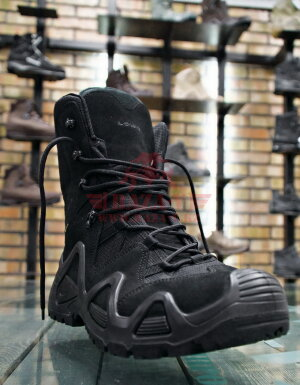 Тактические мембранные ботинки LOWA Zephyr GTX HI TF (Black)