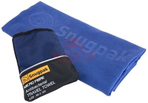 Полотенце из микрофибры Snugpak Microfibre Antibacterial Travel Towel (Blue)