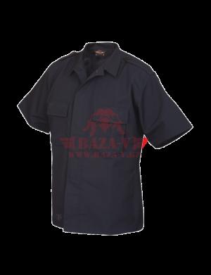 Тактическая рубашка с коротким рукавом TRU-SPEC Short Sleeve Tactical Shirt 4.5 oz. 65/35 PC Rip-Stop (Navy)