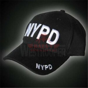 Бейсболка Westrooper NYPD (Black)