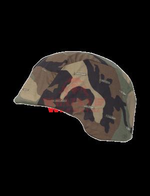 Обтяг к тактическим каскам TRU-SPEC PASGT Kevlar 50/50 Cordura® NYCO Ripstop (Woodland)