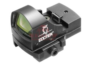 Коллиматорный прицел DOCTER Sight II Plus (L/E, 3.5 MOA) в комплекте с креплением Weaver (Black)