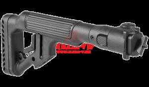 Приклад складной FAB-Defense UAS-AKMIL P с регулируемым подщечником для АК-47