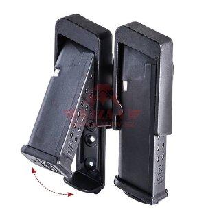 Подсумок под 2 магазина Glock 9мм/.40 кал. CAA RBDMP (Black)