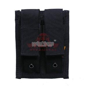 Подсумок под 2 пистолетных магазина 9mm Winforce™ Pistol Double 9mm Mag Pouch (Black)