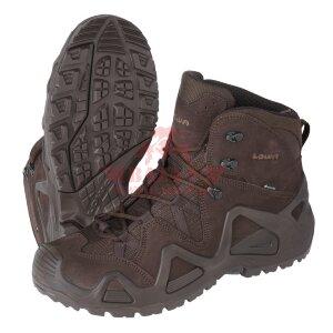 Тактические ботинки LOWA Zephyr GTX MID TF (Dark brown)