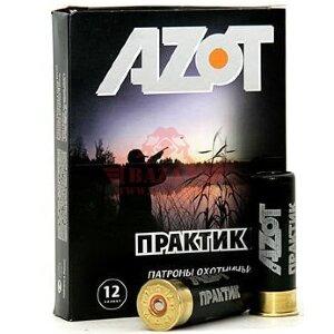 Патрон охотничий AZOT 12/70, картечь 6.2мм, 32 гр