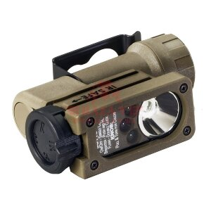 Фонарь налобный Sidewinder Compact® Angle StreamLight®, светодиод 55 люмен (Coyote)
