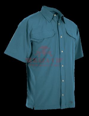 Мужская рубашка с коротким рукавом TRU-SPEC Men's 24-7 SERIES® Cool Camp Shirt (Blue)