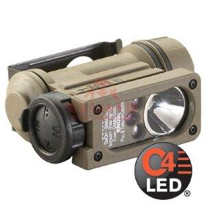 Фонарь на шлем Sidewinder Compact® II E-Mount StreamLight®, светодиод 55 люмен (Coyote)