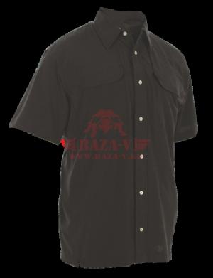 Мужская рубашка с коротким рукавом TRU-SPEC Men's 24-7 SERIES® Cool Camp Shirt (Black)