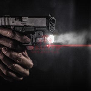 Подствольный пистолетный фонарь с ЛЦУ TLR-8 StreamLight®, светодиод 500 люмен