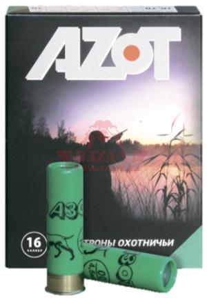 Патрон охотничий AZOT 16/70, 28гр, дробь №3, контейнерный