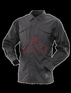 Форменная рубашка с длинным рукавом TRU-SPEC Men's 24-7 SERIES® Ultralight Long Sleeve Uniform Shirt (Black)