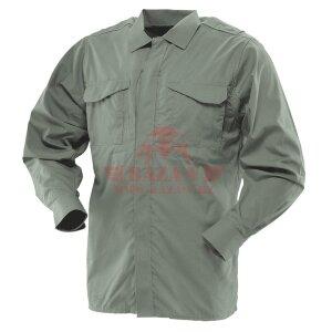 Форменная рубашка с длинным рукавом TRU-SPEC Men's 24-7 SERIES® Ultralight Long Sleeve Uniform Shirt (Olive drab)