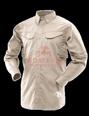 Рубашка с длинным рукавом TRU-SPEC Men's 24-7 SERIES® Ultralight Long Sleeve Field Shirt (Khaki)
