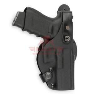Кобура на пояс с креплением Paddle Front Line Thumb-Break Kydex® для Glock 17 /17C/22/22C (K49017P) (Black)