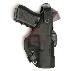 Кобура для Glock 17 / 22 Front Line Thumb-Spring Holster Low Ride (KNG717D)