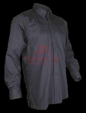 Мужская рубашка с длинным рукавом TRU-SPEC Men's 24-7 SERIES® Pinnacle Shirt (Grey)