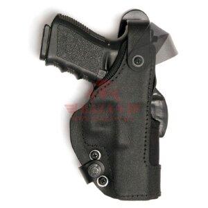 Кобура для Glock 17 / 22 Front Line Thumb-Spring Holster BFL (KNG717 Black)