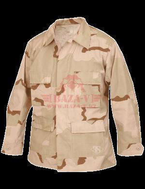Китель классической полевой формы TRU-SPEC Classic BDU Coat (CAMO) 50/50 Cordura® NyCo RipStop (Desert-3-Color)