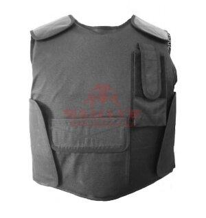 Бронежилет Compass™ Security Bulletproof Vest (BPV-S07) (Класс защиты NIJ II-A, II, III-A) (Black)