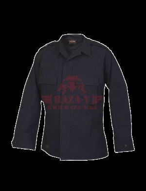 Тактическая рубашка с длинным рукавом TRU-SPEC Long Sleeve Tactical Shirt 4.5 oz. 65/35 PC Rip-Stop (Navy)