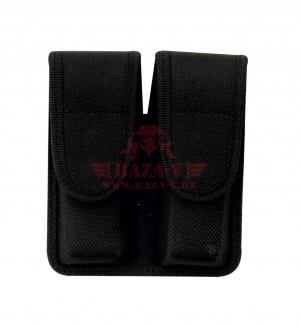 Подсумок универсальный под 2 магазина TRU-SPEC TRU-GEAR™ Double Staggered Mag (Black)