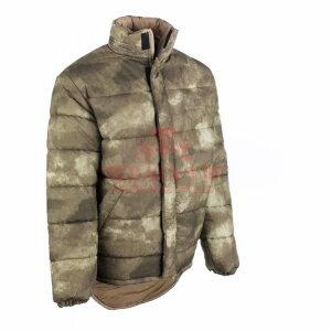 Зимняя двусторонняя куртка Snugpak Blizzard (A-TACS AU/Dark Tan)